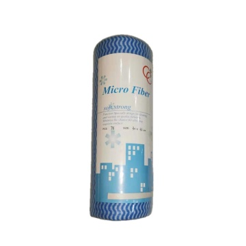Multi-purpose Spunlace Cleaning Non Woven Dry Wipe Roll