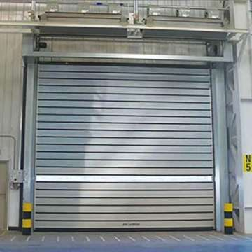 Spiral high-speed door