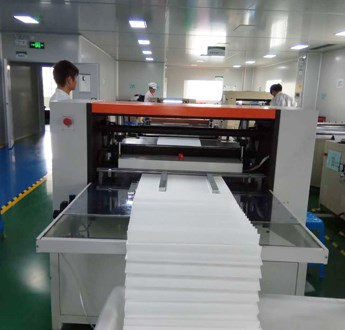 Automatic Pleating Machine