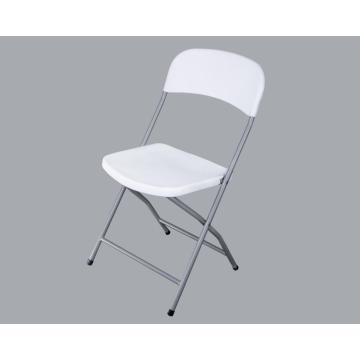 Promotion outdoor restaurant white plastic folding chairs