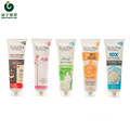 100ml cosmetic plastic tube for face clear packaging