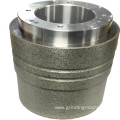 Tap roller ball bearing profile roller