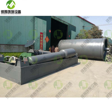 Waste Small Tire Pyrolysis Recycling Plant