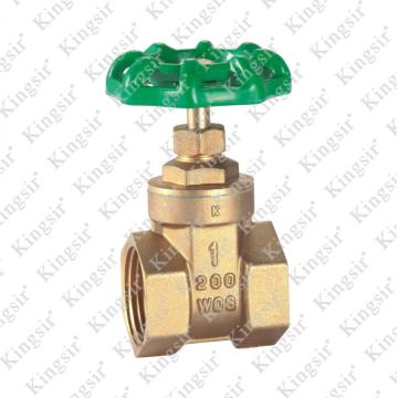 WOG Brass Gate Valves