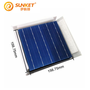 High quality 156mm 5bb monocrystalline solar cell