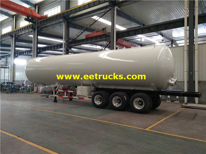 LPG Delivery Trailer Tanks