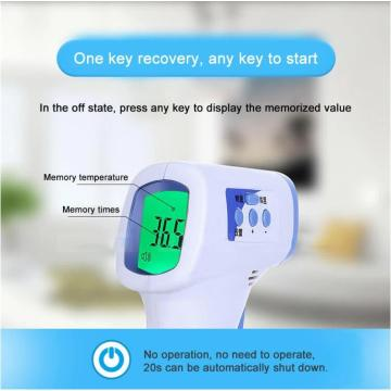 Forehead infrared digital thermometer