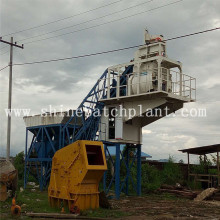 50 Hot Sell Mobile Concrete Plant