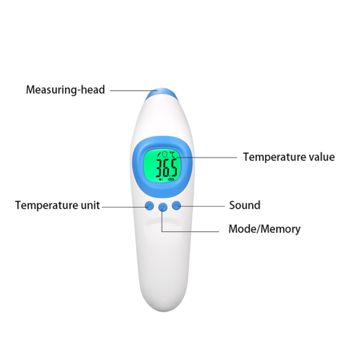 Smart sensor home care infrared digital thermometer