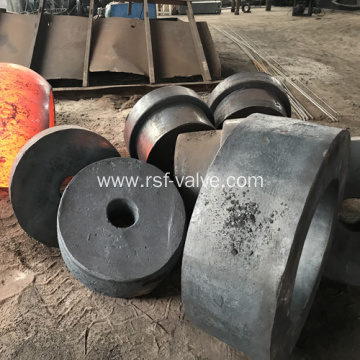 Ball Valve Components-Forging Blank-Body Closure