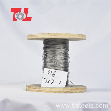 304 316 PVC Coated Stainless Steel Wire Rope
