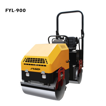 1.7Ton Diesel Power Vibratory Tandem Road Roller Machine