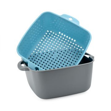 Garwin Draining Basket Bowl Kitchen Washing Strainer