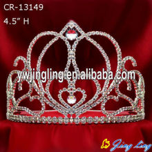 Rhinestone Wholesale Pageant Crowns For Sale