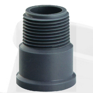 NBR5648 Water Supply Upvc Male Adaptor Grey Color