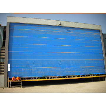 High Speed Fabric Lifting Rolling Flexible Gate