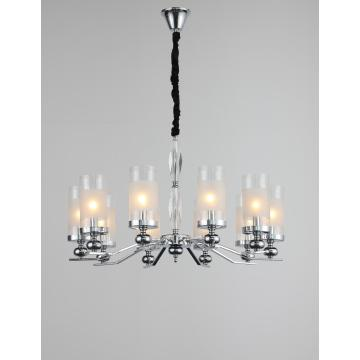 Modern Indoor Restaurant Minimalism Iron Chandelier