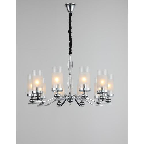 Modern Minimalism Indoor Living Room Iron Chandelier
