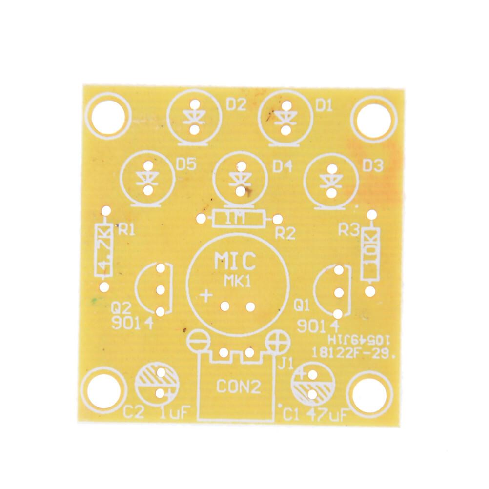 LED Melody Voice Control Light LED Component Parts Design DIY Electronic Production Kit