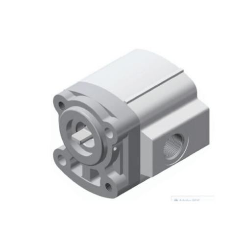 Concrete mixer gear pump