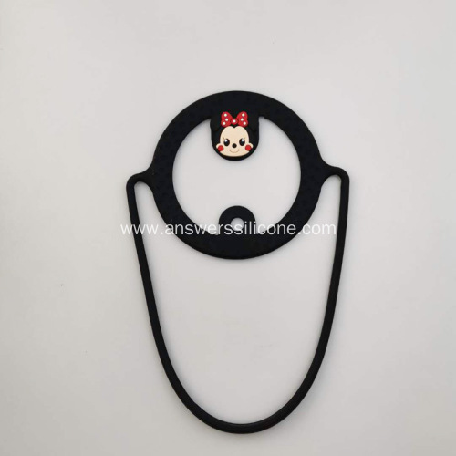 new silicone milk tea cup packing belt