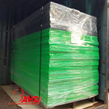 Green Color Polyethylene PE HDPE Plastic sheet