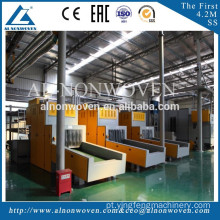 Needle punching felt production line