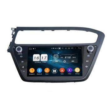 Android 10 car audio gps for I20 2018