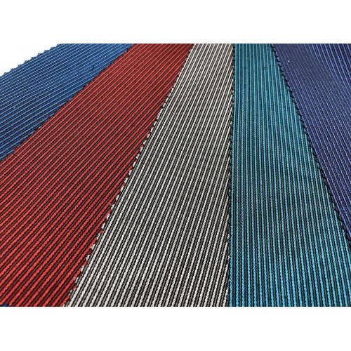 T/C Stretch Yarn-dyed Dobby Stripe Fabric