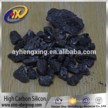 Low price fine quality hot sale on Korea high carbon ferro silicon