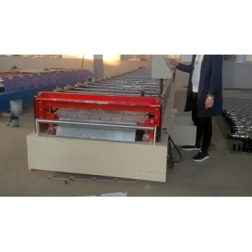 Metal roof tile sheet making roll forming machine