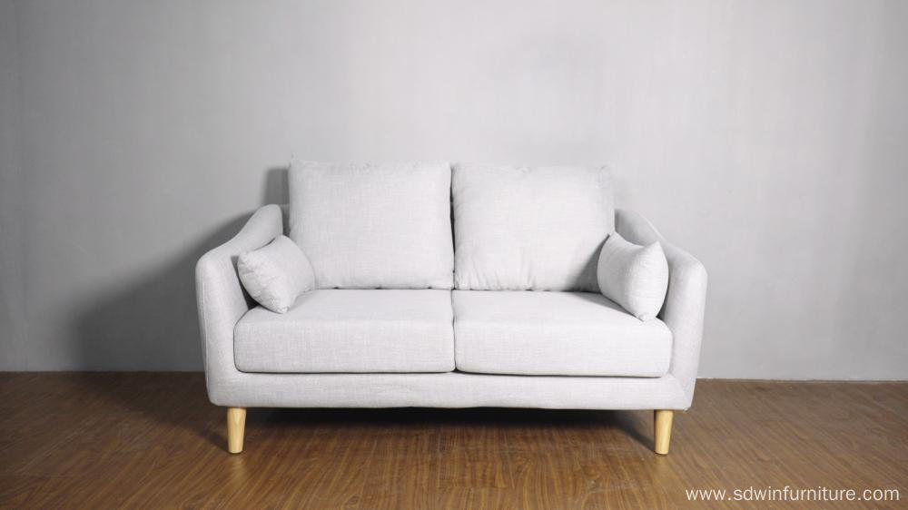 THREE SEAT FABRIC SOFA BED
