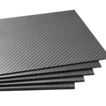 Hard carbon fiber board sheet for custom