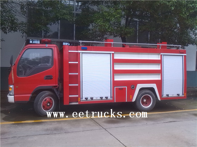 Water Tank Fire Vehicles