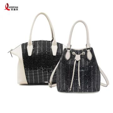 Ladies PU Leather Tote Bag Hobo Handbags