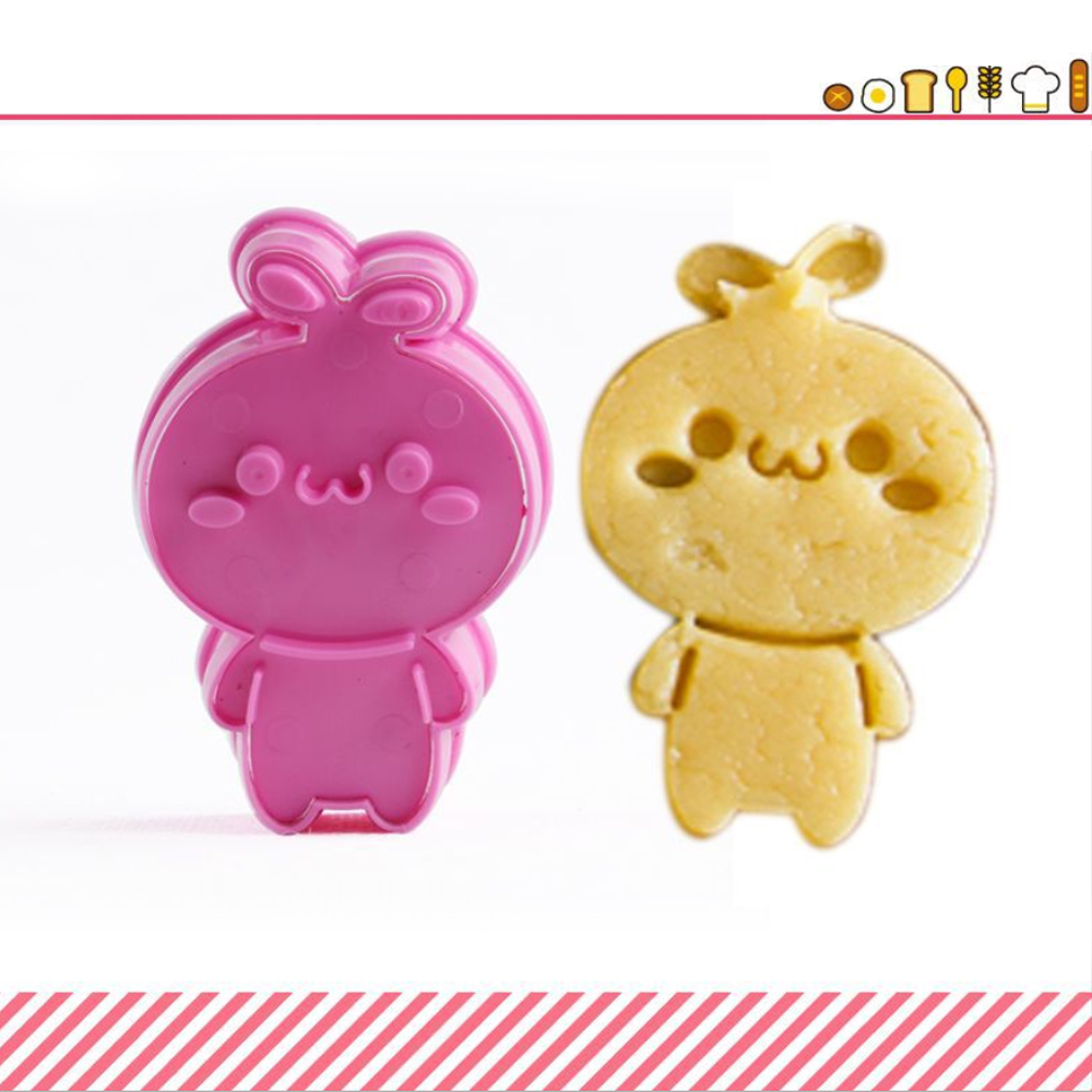 3D Cartoon Biscuit Cookie Mold (5)
