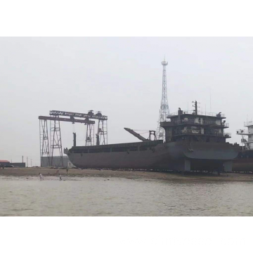 3390T Self-Propelled Deck Barge With Rampdoor