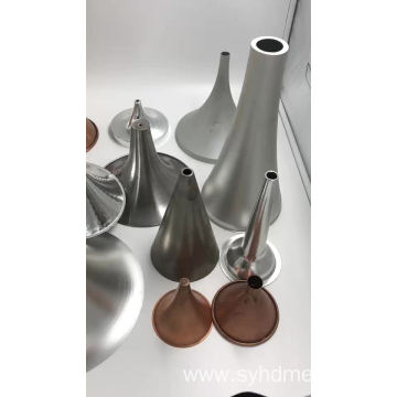 copper sheet metal spinning cone spinning base