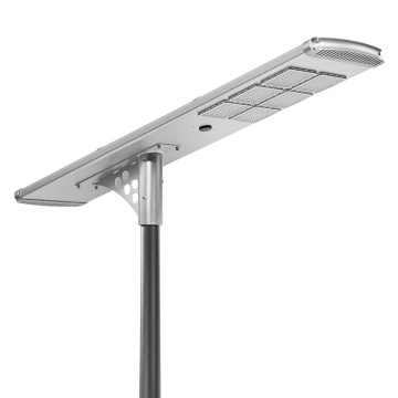 120W solar led street light all in one