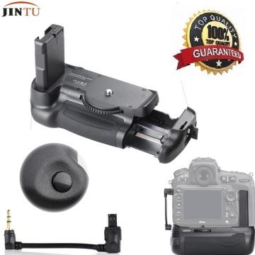JINTU Top Quality Battery Grip Pack Holder For Nikon D5600 D5500 DSLR Camera + cable kit half press button
