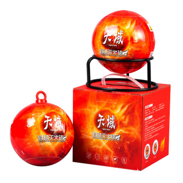 Fire extinguisher ball/throwable fire extinguisher