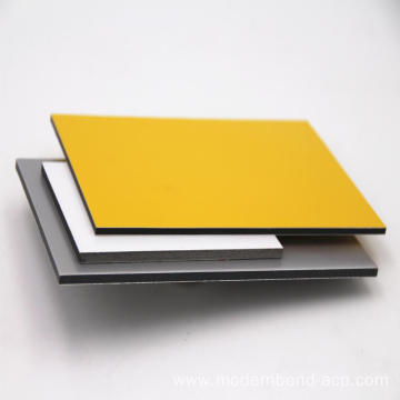 PVDF Coated Aluminum Composite Pane