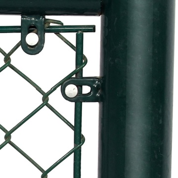chain link fence mesh system for baseball fields