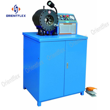 Superior 2 1/2 hydraulic line crimper machine HT-91L