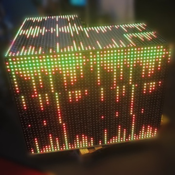 Disco Club Programmable Colorful LED Video Wall