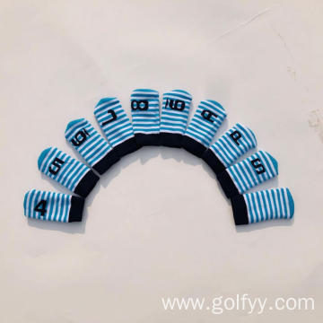 Knitted Iron Sleeve Golf Club Protective Sleeve