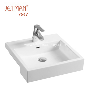 Europe Design Glass Wash Basin For Hotel Project