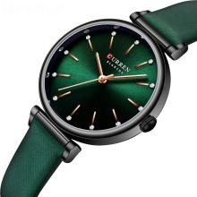 CURREN 9081 Fashion Rhinestones Dial Retro Charming Watch