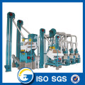 10 ton per day maize flour milling machine