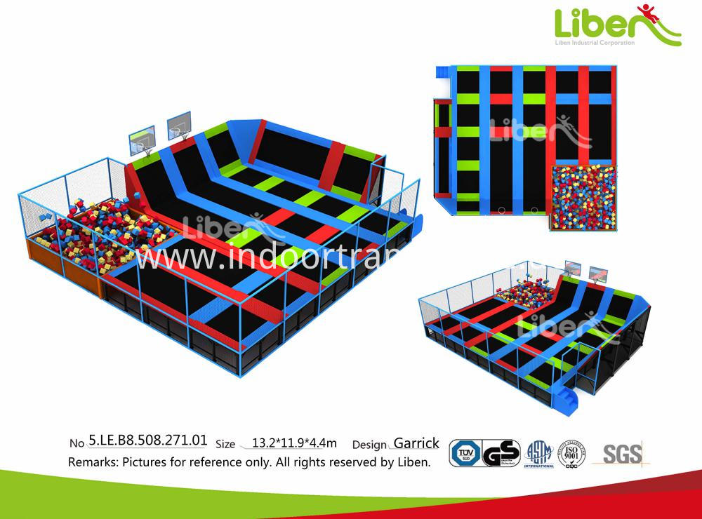 Big Commercial Indoor Trampoline